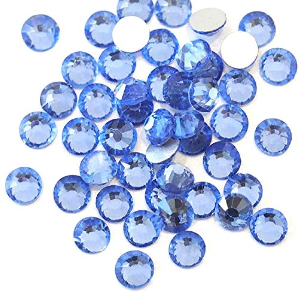 レジデンス暴行私達【ラインストーン77】 超高級 ガラス製ラインストーン SS4~SS30 サファイア スワロフスキー同等 (4.0mm (SS16) 約150粒)