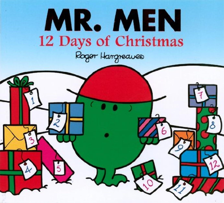 イブニング尊敬不良品Mr. Men 12 days of Christmas (Mr. Men and Little Miss) (English Edition)