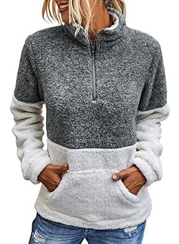 A cozy multi-colored sweatshirt