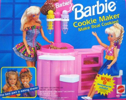 Barbie Juego para hacer galletas