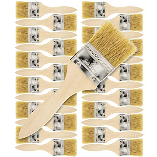 US Art Supply 24 Pack of 2 inch Paint and Chip Paint...