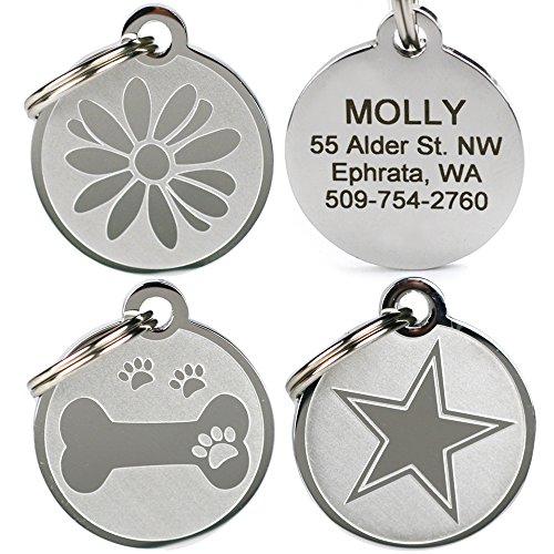 GoTags Custom Engraved Dog ID Tag