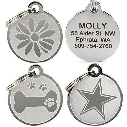 GoTags Playful Custom Engraved Pet ID Tags