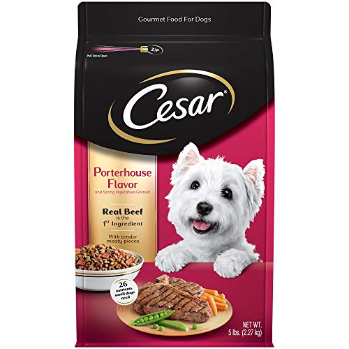 Cesar Small Breed Dry Dog Food, 5 lb.