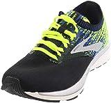 Brooks Men's Running Shoes, Black Black Nightlife Blue 004, Womens 8