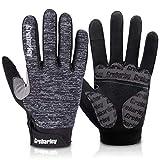 Grebarley fahrradhandschuhe,MTB Handschuhe,Mountainbike Handschuhe mit Touchscreen Finger für Radsport,Road Race,Downhill,Wandern,fahrradhandschuhe männer und Frauen (G-XL)