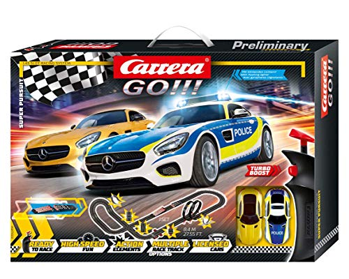 Carrera GO!!! Super Pursuit 20062494 Autorennbahn Set