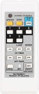 Dgtrhted Ventilador eléctrico ABS Blanco Control Remoto Universal Controller Duradero for KDK ELMARK