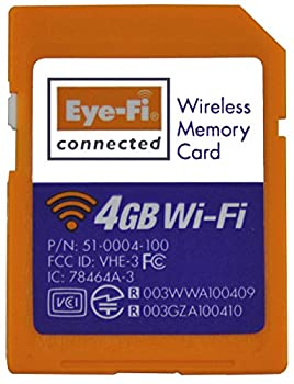 Eye-Fi Connect X2 4 GB Class 6 SDHC SD Flash Memory Card discontinued by manufacturer works only as SD card