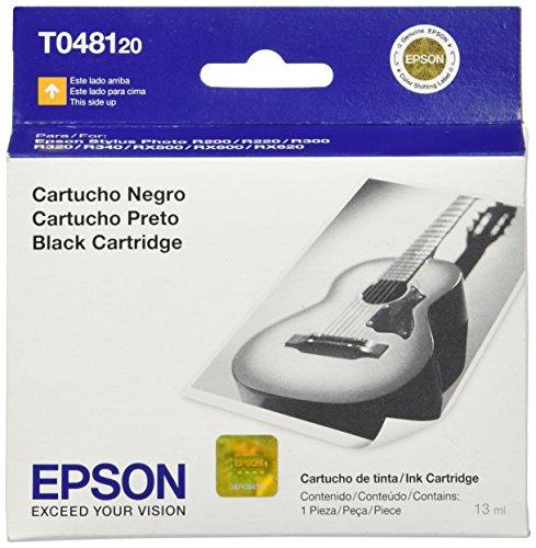 Epson T048120 48 Inkjet Cartridge -Black