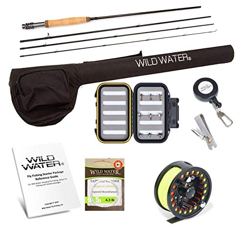 Wild Water Fly Fishing Rod and Reel...