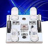 Sensor de Color Arduino, Sensor de Color de Pines de 100 mm para Controlador para Impresora 3D para Laboratorio