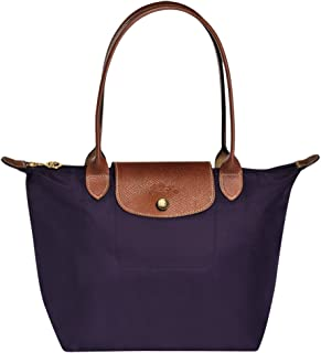 Longchampag Le Pliage Large Shoulder Tote Bag Bilberry