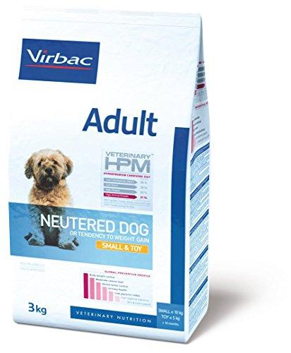 Virbac Vet Hpm Dog Ad Neutered S/Toy Nourriture 3 kg pour Chien
