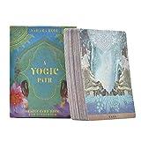 Tarot Karten,Yogic Deck Und Guidebook Tarot Anfänger Tarot, Leite Den Weg Reinige Den Geist Tarot Kartendeck Erzählen Set Mit Karten Für Hausparty(Englische Version)