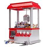 Monsterzeug Retro Candy Grabber, Süßigkeitenautomat mit Greifarm, Jahrmarkt-Atmosphäre für...