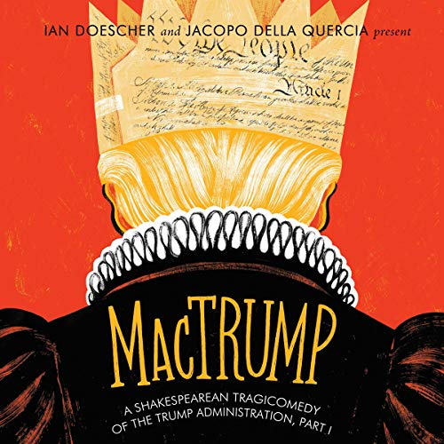 MacTrump audiobook cover art
