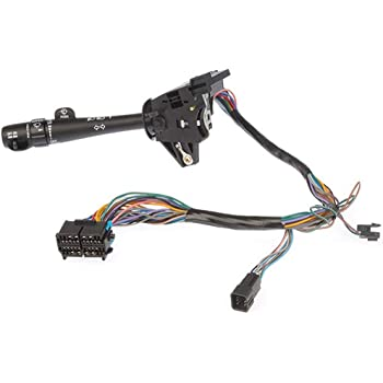 Replaces YS4Z-13341-AA YS4Z13341AA Turn Signal and Headlamp Dimmer Switch Compatible with 2000 2001 2002 2003 2004 2005 2006 2007 Ford Focus BOXI Multi-Function Combination Switch