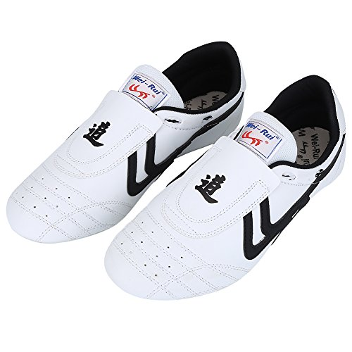 VGEBY1 Taekwondo Shoes, Lightweight Shoes Boxing Kung fu Taichi Martial Arts Sneaker for Taekwondo, Boxing, Kung Fu and Taichi(41)