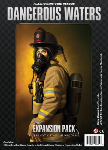 Indie Board & Card Games IBG0FP06 Brettspiel Flash Point: Fire Rescue-Dangerous Waters Expansion