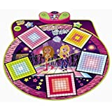 Dance Mixer Electronic Playmat - Touch-Sensitive Design with Background Music- Adjustable Music Tempo Setting ,Plug in Music