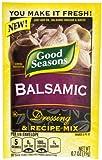 Good Seasons Balsamic Salad Dressing & Recipe Mix .7 oz (Pack of 6)...