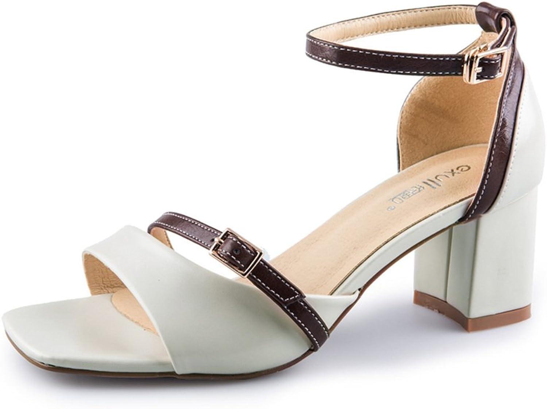 MET RXL Summer,Fashion,High Heel Lady,Chunky Heel Sandals