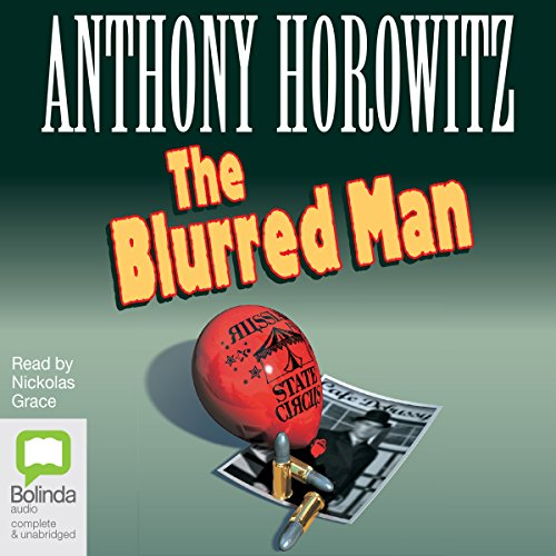 The Blurred Man audiobook cover art