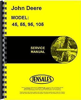 John Deere 45 55 95 105 Combine Service Manual