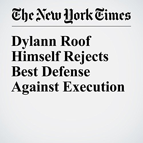 Dylann Roof Himself Rejects Best Defense Against Execution copertina