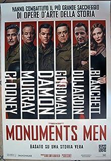 MONUMENTS MEN - Matt Damon, George Clooney - Poster Manifesto Original 70x100cm