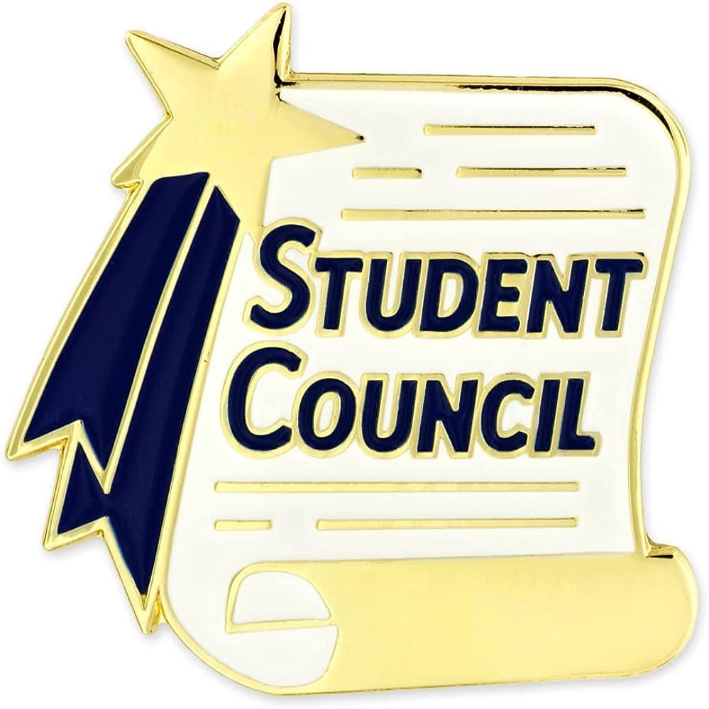 PinMart Student Council Scroll School Award Lapel Pin