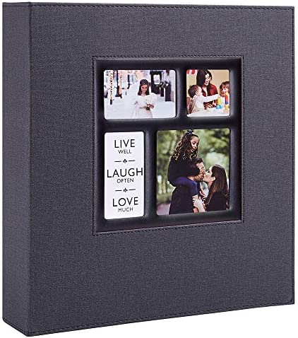 Ywlake Photo Album 4x6 1000 Pockets Photos Linen Cover Extra Large Capacity Family Wedding Picture product image