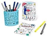 STAEDTLER Sketchnoting Set Büro, Starthilfe für nuancierte Business Sketchnotes, 9 Sketchnote Stifte Office Pens (Pigment Fineliner, Filzstifte, Textmarker), MADE IN GERMANY, 61 SN-1