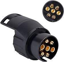 Micro Trader Car Caravan Truck 7 Pin to 13 Pin Plug Adapter Converter Trailer Towbar Socket