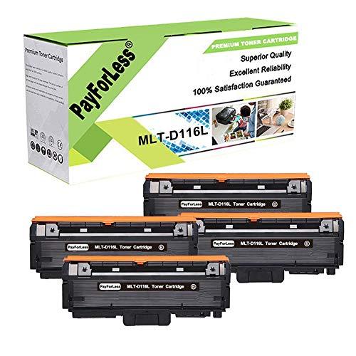 PayForLess MLT-D116L D116L MLT-D116S Toner Cartridge for Samsung M2885FW M2875FW M2835DW M2625 M2825DW M2625D M2875FD 2626 2835 2825