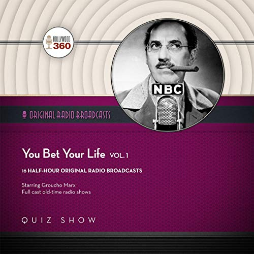 You Bet Your Life with Groucho Marx, Vol. 1 audiobook cover art