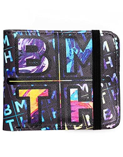 Rock Sax bringt mir den Horizont Wallet Herren Band Logo Bifoldable-Geldbörse Einheitsgröße