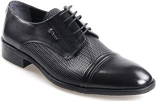 Fosco 8545 Termo Taban Siyah Erkek (40-44) Klasik Ayakkabı