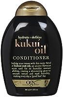 Ogx Hydrate + Defrizz Kukui Oil Conditioner - 13 oz [並行輸入品]