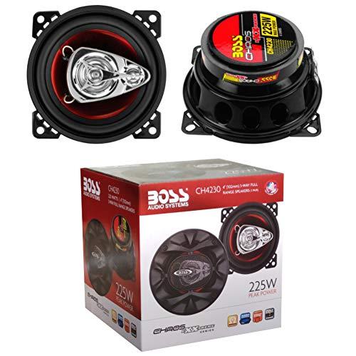 2 Altavoces Compatible con Boss Audio Systems CH4230 CH 4230 coaxial de...