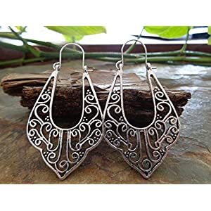 ꧁ GROSSE TRIBAL BOHO OHRRINGE ꧂ seitliche robuste Ohrringe