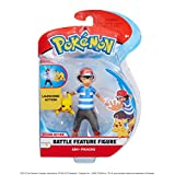 Pokemon 98121 Pokemon - Figuras de 4,5 Pulgadas de Ash y Pikachu, sin Color