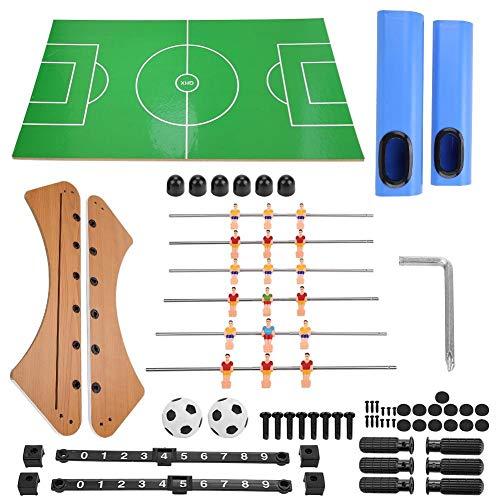 Demeras Fußball Tisch Fußball Fußball Kicker Klassisches Familienspiel Kinderspielzeugbrett für Spielzimmer