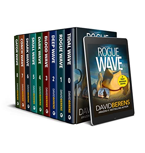 The Complete Troy Bodean Tropical Thriller Collection: NINE Tropical Thrillers From Rogue Wave to Sh