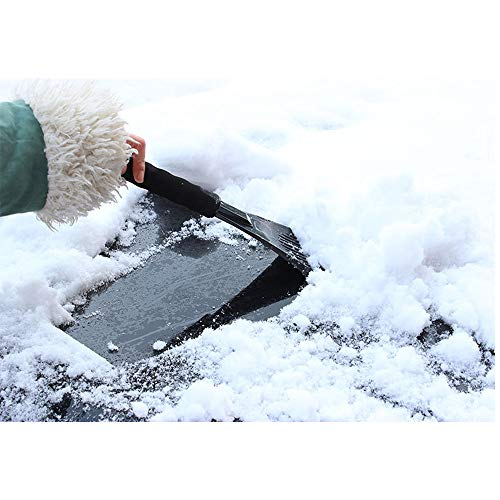 Save %35 Now! Bessie Sparks Car Ice Shovel EVA Handle Snow Shovel Red Car Ice Scraper for Auto Winds...