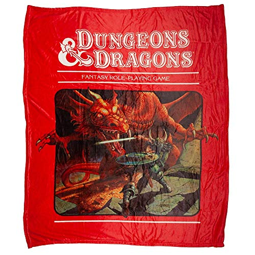Dungeons and Dragons Throw Blanket