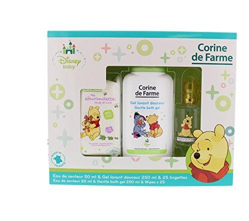 Corine de Farme Coffret Winnie Puuh lingettes + Gel Lavant + Eau de Senteur Disney Baby 50ml