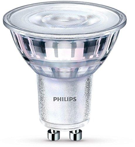 Philips LED WarmGlow Lampe ersetzt 5 W, GU10, warmweiß (2200-2700K), 350 Lumen, Reflektor, dimmbar