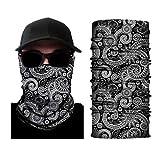 SUPOFIT Bandana Face Mask Neck Gaiter Magic Scarf Balaclava Headband for Sun Dust UV